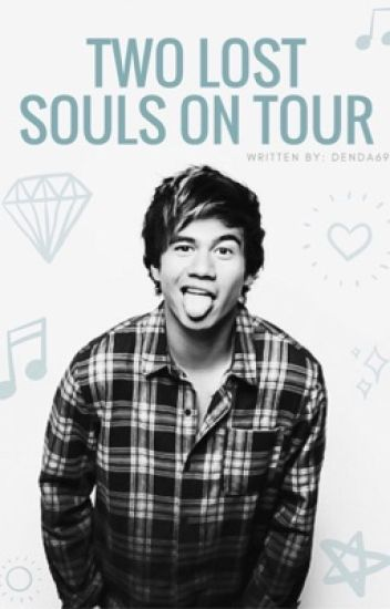 Two lost souls on tour. // calum hood