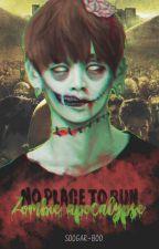 No place to run. [Vkook - Yoonmin] [Zombie apocalypse AU] by soogar-boo