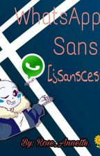 Whatsapp Sans (Sanscest :3) by JuliLover-InkSans