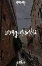 wrong number • taegi by nightaehy