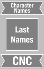 Character Last Names by CharacterNameCentral