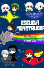 -Escuela monstruosa- Undertale fanfic 2ª temporada  by Emerald_lover