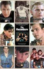The Outsiders stuff by Rainisinmyheart