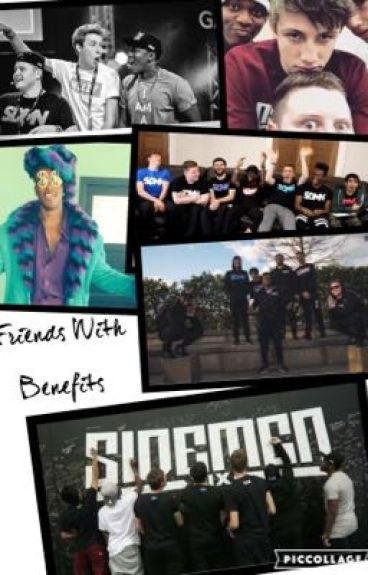 Friends With Benefits (A Sidemen Fanfiction)