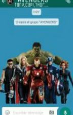 Chat Avengers by Stony_is_love