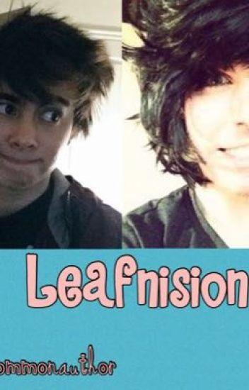 Leafnision (texting AU)