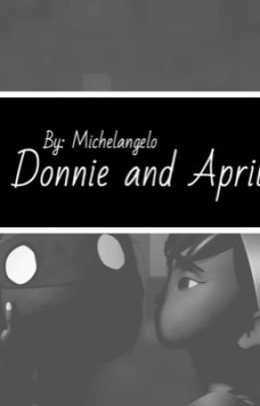 Donnie and April  by TMNT-michelangelo