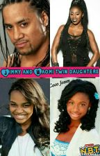 Naomi and Jimmy Fatu twin daughter by AmazingLaila
