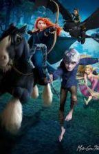 Disney/DreamWorks School~ Rise of the Brave Tangled Dragons by DisneyWorks