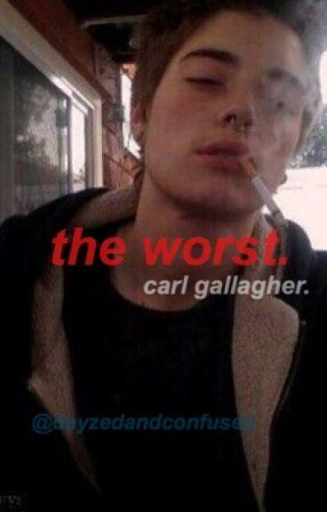 a carl gallagher x reader story.