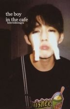 the boy in the cafe  by belovedmingyu
