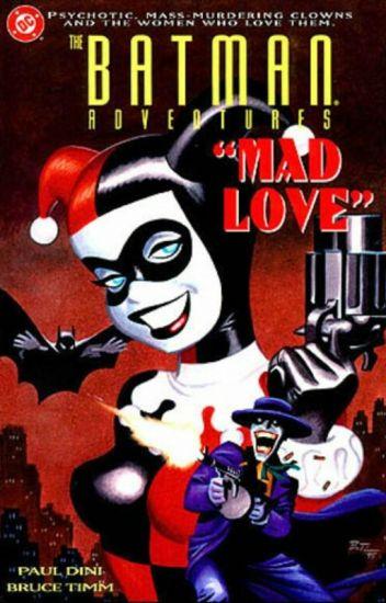 Mad Love (Cartas De The Joker Y Harley Quinn)