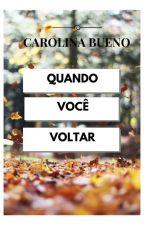 Quando Você Voltar by CarolinaBueno1987