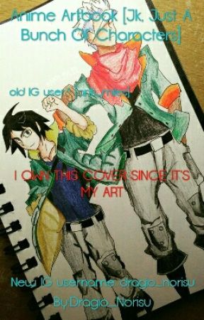 Anime Artbook [Jk, Just A Bunch Of Characters] by Dragio_Norisu