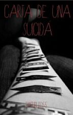 ~Carta De Una Suicida~ by tributo55