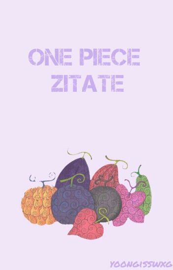 One Piece Zitate