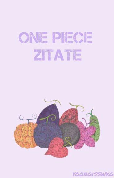 One Piece Zitate