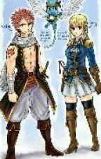 Băng Hải Tặc Natsu và Băng Hải Quân Lucy  by mukkunkarma