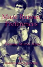 Maze Runner Preferences by names-newt-greenie