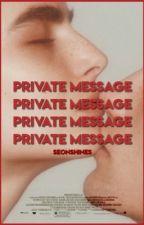 Private Message ↬ byun baekhyun by seul-ji