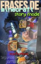 Frases de minecraft story mode by rosafazbear