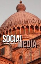 Social media ;flamingeos;  by vividLuh