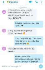 Sms d'un inconnu ❤ by Dedel64
