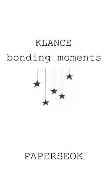 KLANCE // Bonding Moments