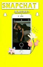 Snapchat • • Blake Gray by LindaaGraay
