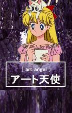 art angel; art book by catacombs-