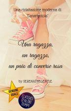 Una ragazza, un ragazzo, un paio di converse rosa by SerenaTheGentle