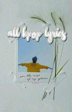 ALL KPOP LYRICS(CLOSER) by Jung_Hye