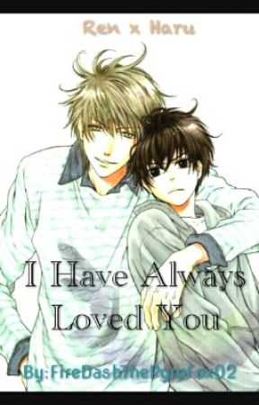 Ren X Haru Super Lovers by FireDashThePyroFox02