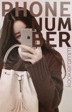 Phone Number {BTS FANFICTION} by kookierom15