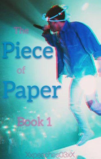 The Piece of Paper: Jacob Sartorius   Book One