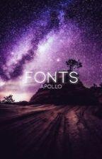 Fonts by annalatham