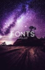Fonts by annaisnotonfire-