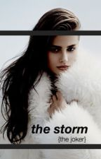 the storm {the joker} by mutedbones