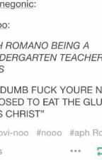 Cracktalia Fanfic : Romano The Kindergarden Teacher by h_greennnnn