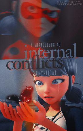 Internal Conflicts 『Miraculous Ladybug AU』 by KryptiCat