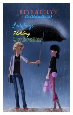Ladybugs Holding Umbrellas (Soulmate AU) by heykatelyn