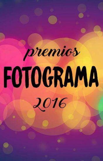 Premios Fotograma 2016
