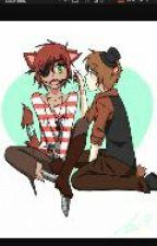 Freddy x Foxy fnafhs by kinatanu