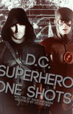 DC Superhero One-Shot Book by timewatches