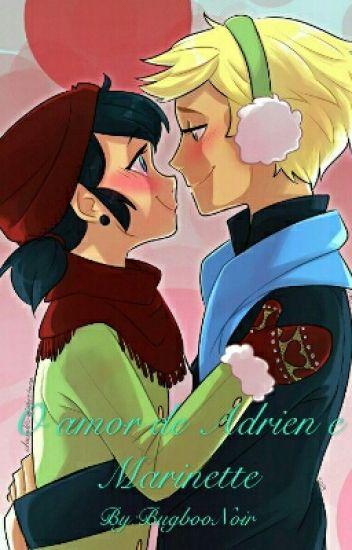 Miraculous - O amor de Adrien e Marinette