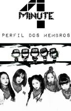 4Minute - Perfil dos Membros by natiele_ramos