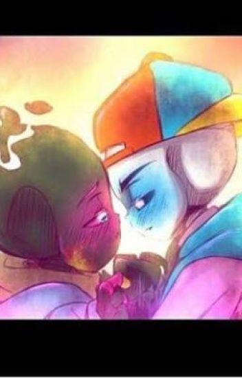 El amor se puede pintar con diversion[Fresh!Sans x PaperJam]