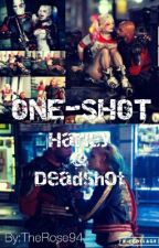 《 ONE-SHOTS 》 ~ Harley Quinn Y Deadshot  by TheRose94