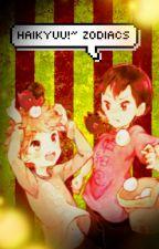 Haikyuu!!~ zodiacs by imsay-chan