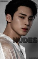 nudes; mingyu by cosmicgirls